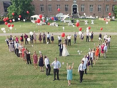 Drone, Hochzeit, Mönchengladbach, Herz